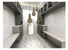140平米三室一厅其他风格衣帽间装修效果图