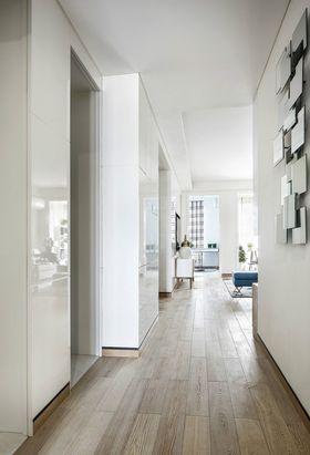 5-10万80平米现代简约风格玄关装修案例