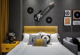 40平米小户型英伦风格卧室图片大全