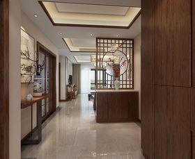 90平米三室两厅中式风格走廊装修图片大全