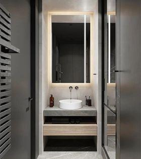 50平米一室一厅北欧风格卫生间设计图