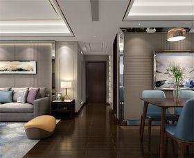 120平米公寓美式风格玄关装修案例