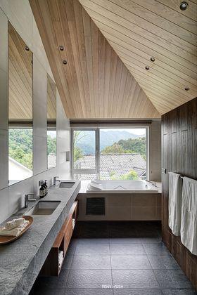 140平米別墅現代簡約風格衛生間設計圖