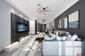 90平米三室一厅其他风格客厅装修图片大全
