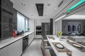 80平米公寓现代简约风格厨房设计图