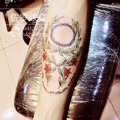 花环纹身款式图-大众点评纹身图案大全