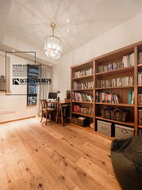 豪华型140平米别墅北欧风格书房欣赏图