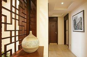5-10万120平米三室两厅中式风格走廊图