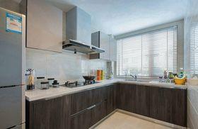 100平米复式现代简约风格厨房欣赏图