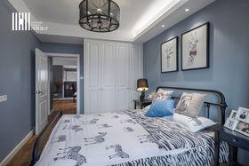 10-15万120平米三室两厅混搭风格卧室欣赏图