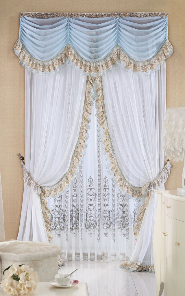 挑选合适的欧式窗帘,欧式窗帘挑选小技巧