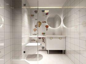 100平米美式风格卫生间设计图