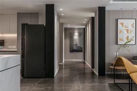 140平米三室一廳現代簡約風格走廊裝修案例
