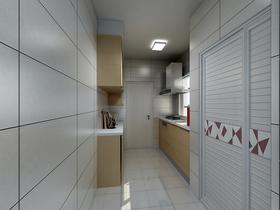 40平米小户型中式风格厨房欣赏图