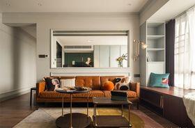 80平米混搭風格客廳圖片