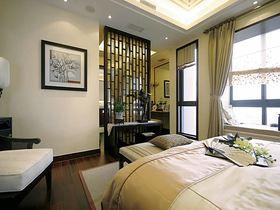 110平米三室一厅中式风格卧室图