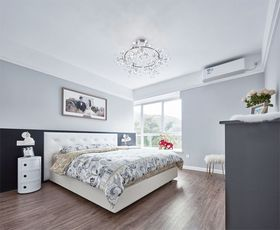 90平米四室两厅现代简约风格卧室图片大全