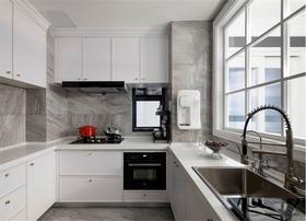 140平米三混搭风格厨房欣赏图