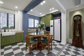 10-15万90平米美式风格餐厅装修案例