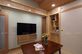 5-10万80平米日式风格影音室设计图