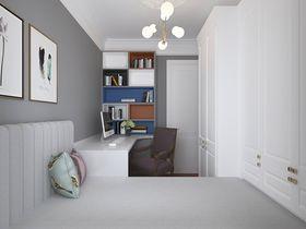 90平米美式风格卧室图片