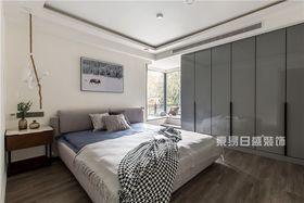 120平米三室兩廳現代簡約風格臥室設計圖