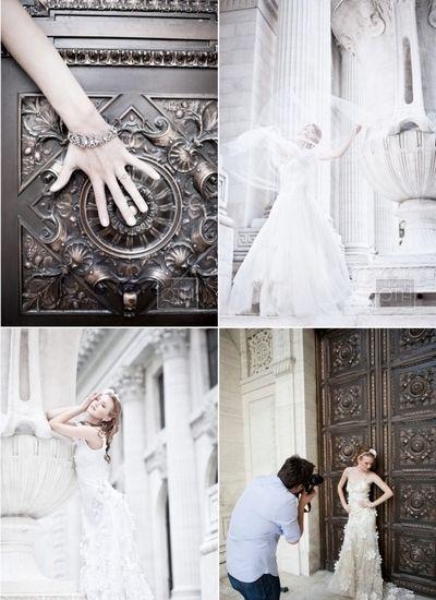 从古到今 细数婚纱照的时间演绎