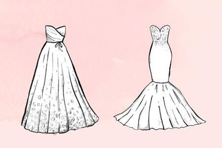 优雅新娘婚礼造型塑造篇 孕妈妈的婚纱设计及周边