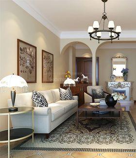 90平米美式风格客厅装修案例