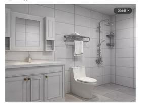 140平米三室两厅欧式风格卫生间装修图片大全