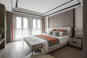130平米现代简约风格卧室装修案例