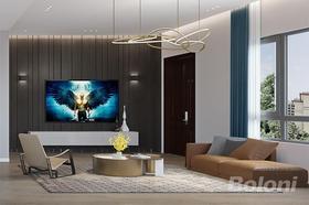 140平米別墅現代簡約風格客廳效果圖