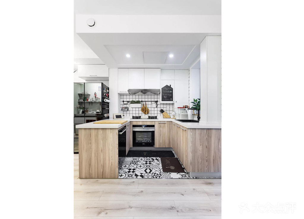 70平米北欧风格厨房装修图片大全