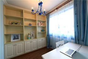 100平米三室两厅地中海风格书房装修图片大全