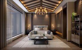 140平米别墅东南亚风格卧室装修效果图