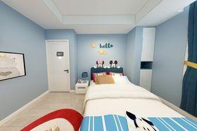 130平米四室两厅现代简约风格儿童房图片
