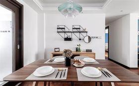 120平米三室两厅混搭风格餐厅效果图