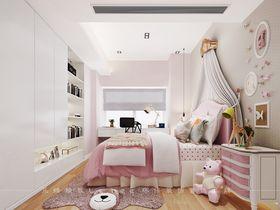 130平米三室两厅现代简约风格卧室装修效果图