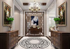 140平米别墅美式风格玄关门口图片大全