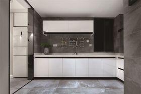 80平米三室一廳北歐風格廚房圖片大全