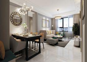 110平米三美式風格客廳裝修案例