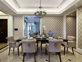 5-10万110平米三室两厅现代简约风格餐厅设计图