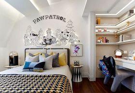 90平米三室两厅法式风格儿童房图片大全