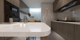 140平米三室三厅现代简约风格厨房图片