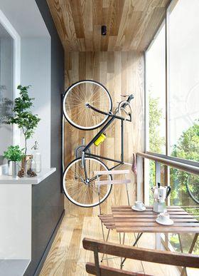 80平米一室一厅北欧风格阳台装修案例