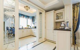 140平米复式英伦风格厨房图