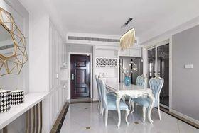 90平米三室一厅法式风格客厅欣赏图