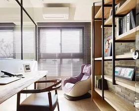 110平米混搭风格书房效果图