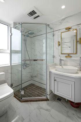 140平米三室兩廳美式風格衛生間圖片大全