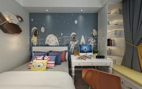 140平米三美式风格儿童房装修案例